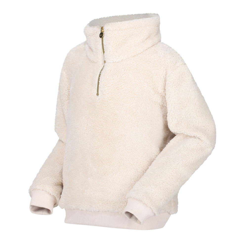 Regatta Kids Kessie Half Zip Fleece-light Vanilla-13 Years