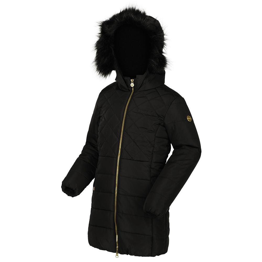 Regatta Kids Bernadine Insulated Jacket-black-3-4 Years