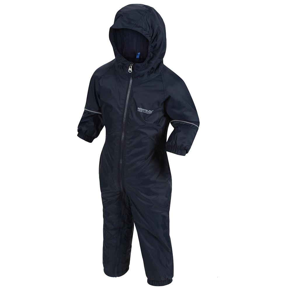 Regatta Kids Splosh Iii All In One Suit - Navy - 12-18 Months