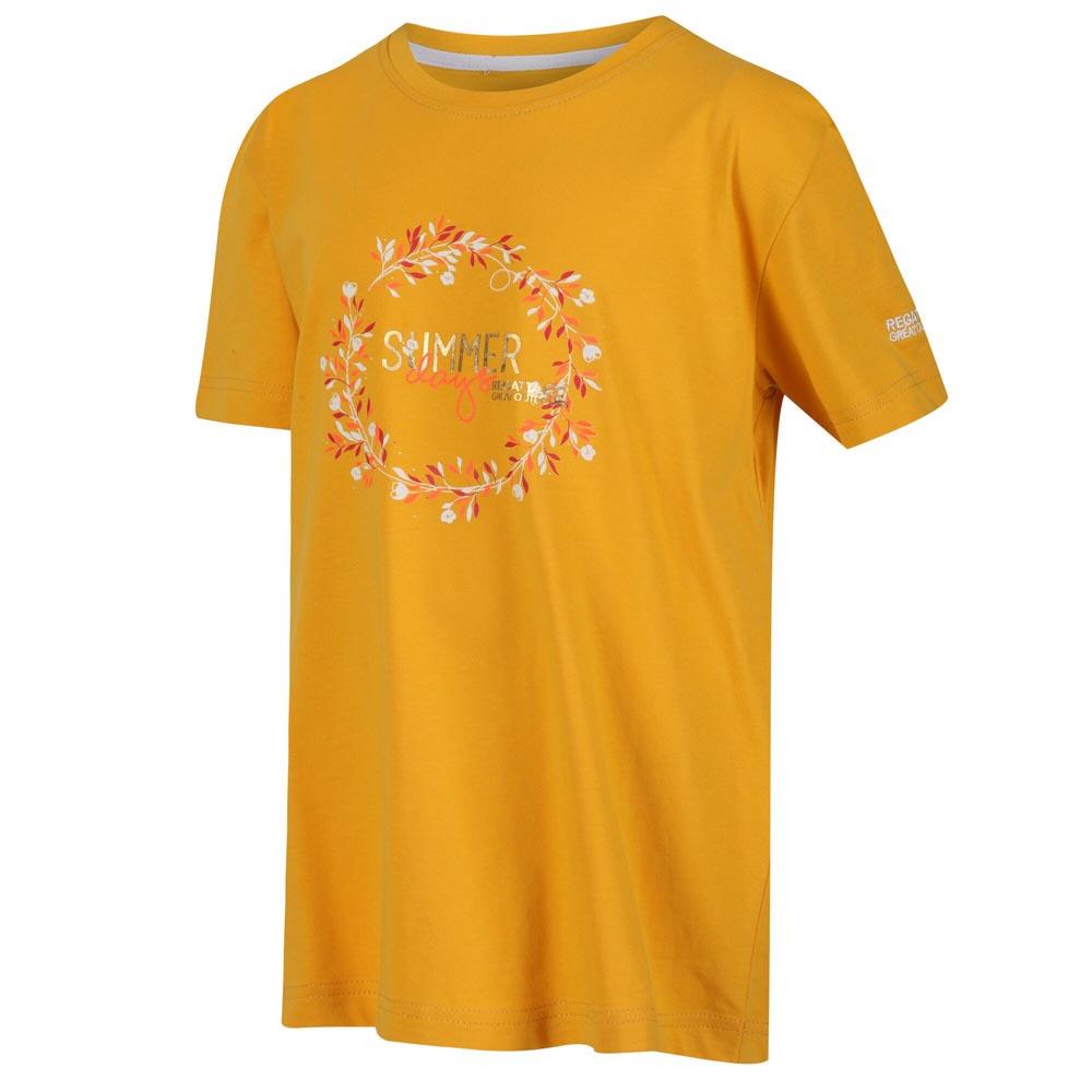 Regatta Kids Bosley Iii T-shirt-california Yellow-7-8 Years