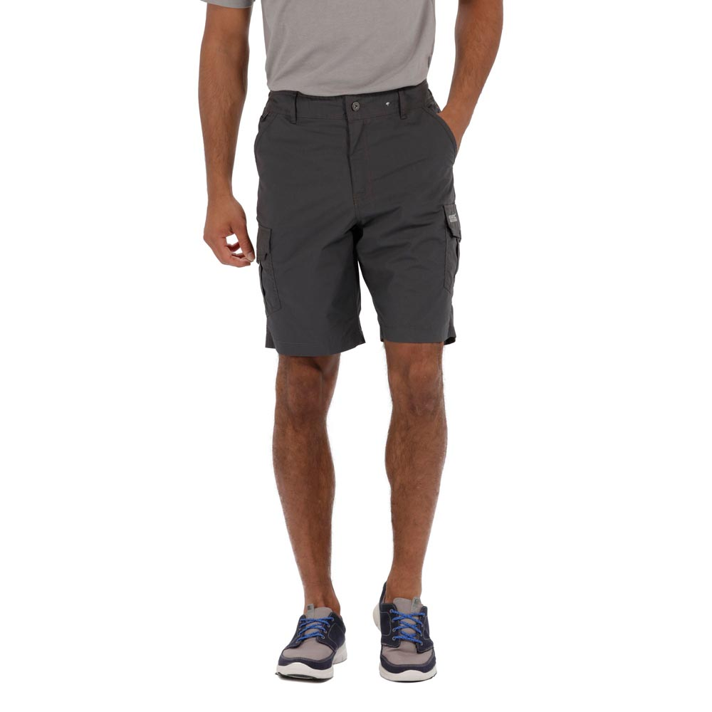 Regatta Mens Delph Shorts - Iron