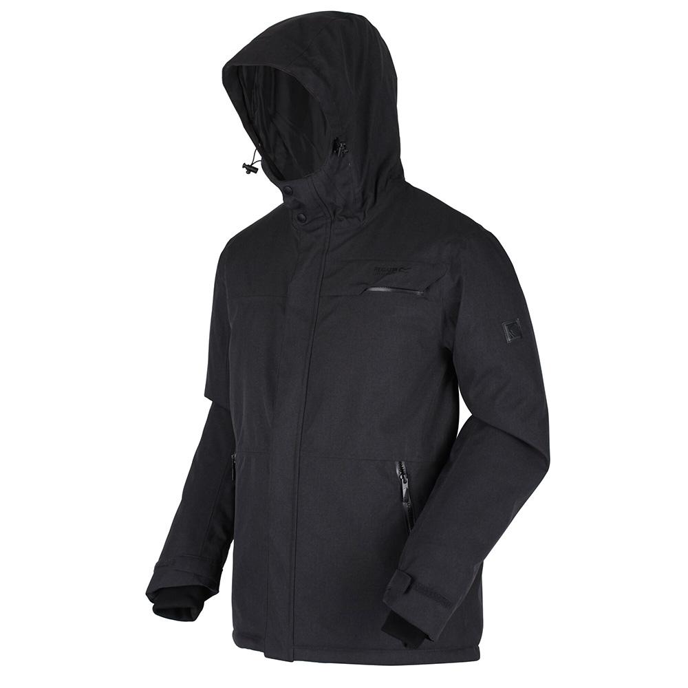 Regatta Mens Volter Shield Ii Waterproof Insulated Heated Jacket-ash-xl