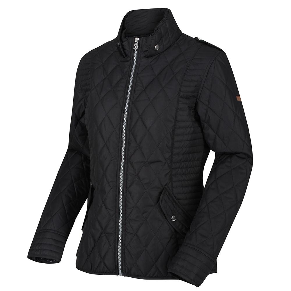Regatta  Womens Carita Insulated Jacket -black-14