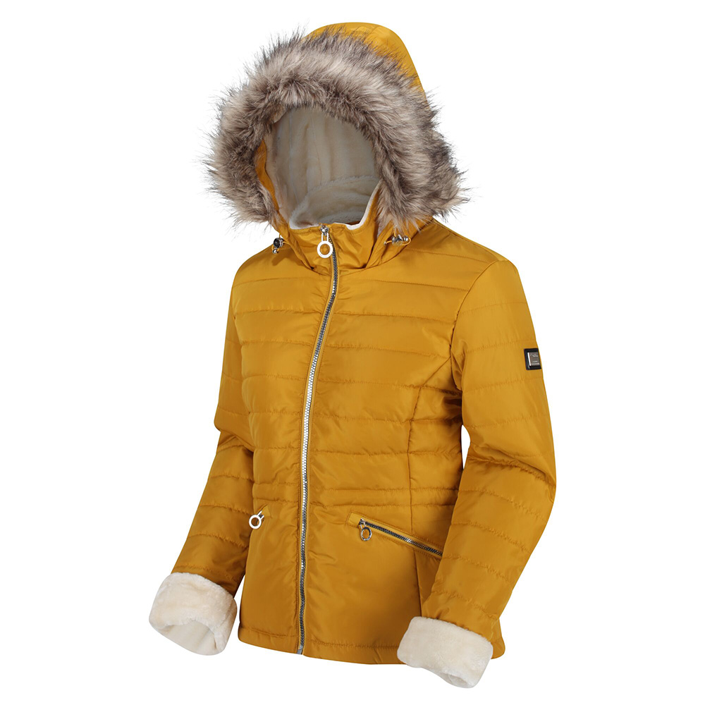 Regatta Womens Westlynn Insulated Quilted Jacket-mustard Seed-20