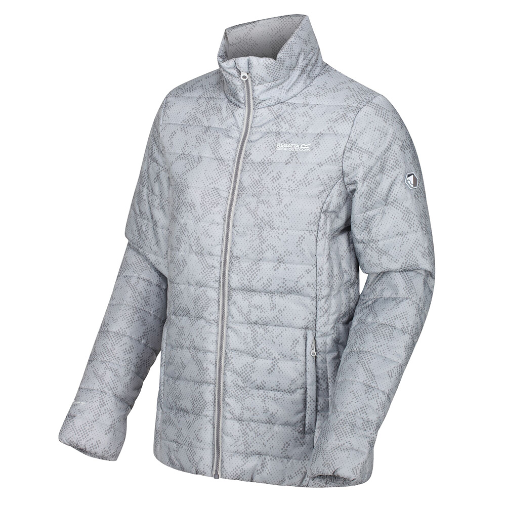 Regatta Womens Freezeway Ii Insulated Jacket-light Steel-16