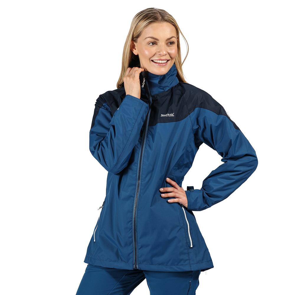 Regatta Chandler Iii Breathable Waterproof Overtrousers - Navy - 2xl - Short