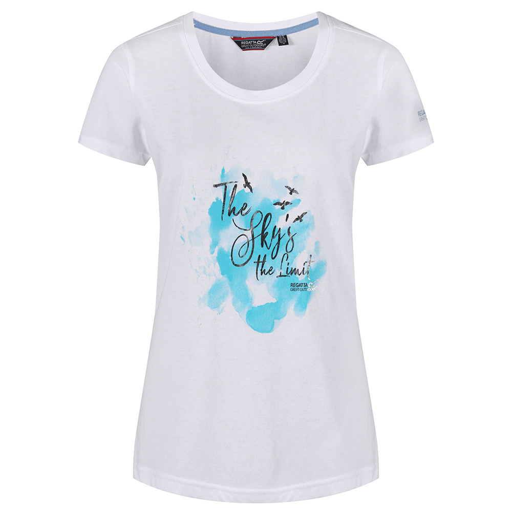 Regatta Womens Filandra III T-Shirt-White-14