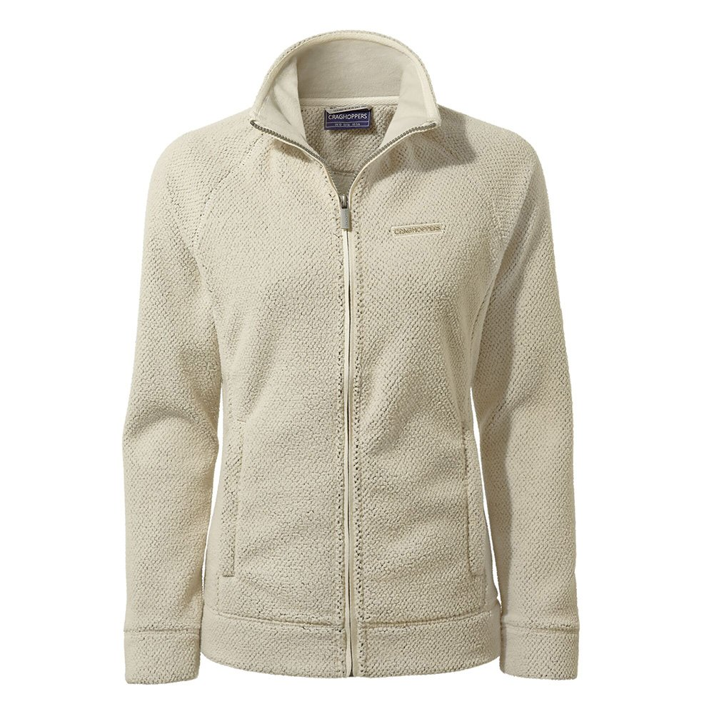 Craghoppers Womens Ambra Full Zip Fleece-ecru-14