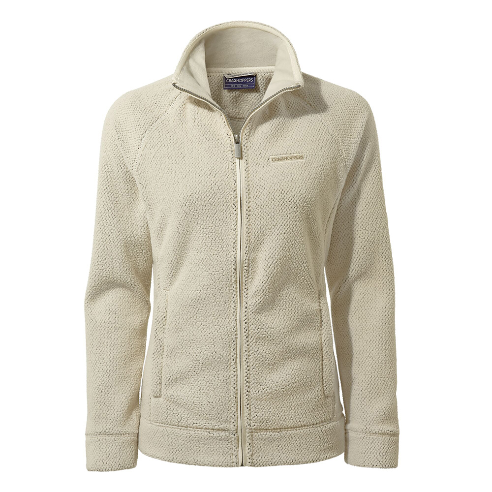 Craghoppers Womens Ambra Full Zip Fleece-ecru-16