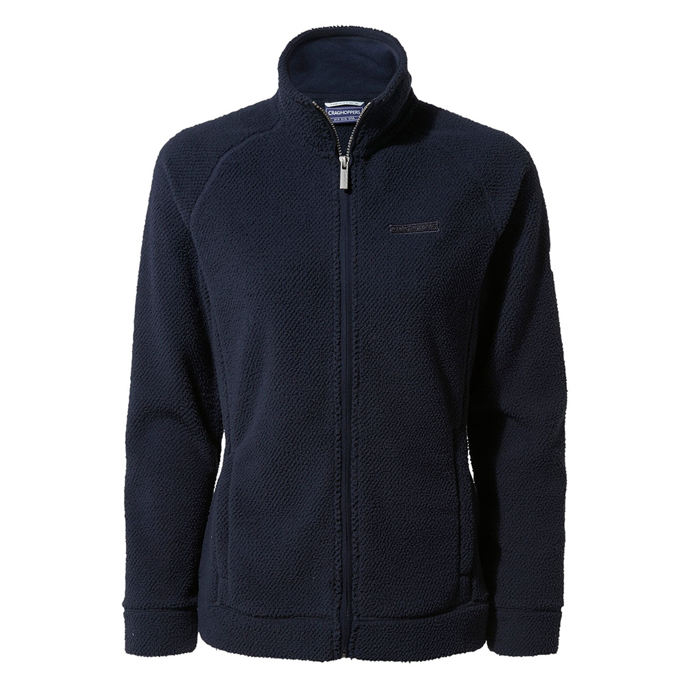 Craghoppers Womens Ambra Full Zip Fleece-blue Navy-14