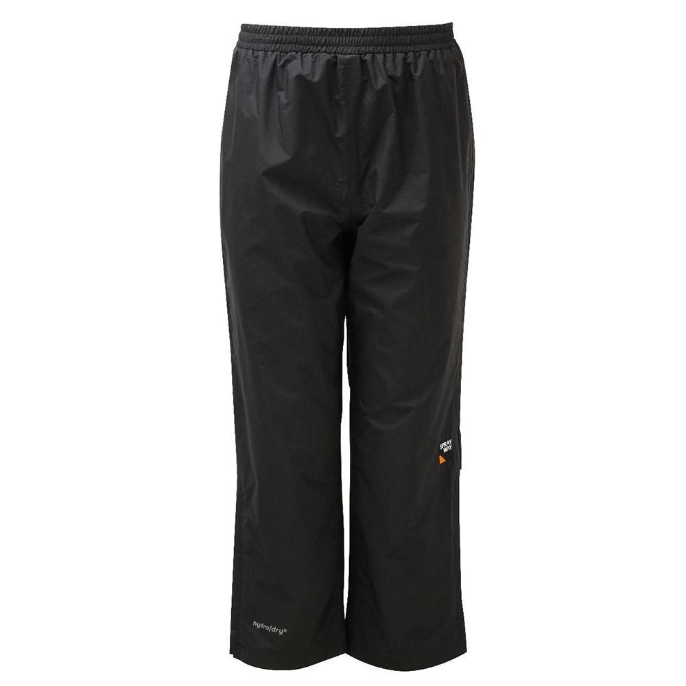 Sprayway Kids Rain Pants - Black - 6/7 Years