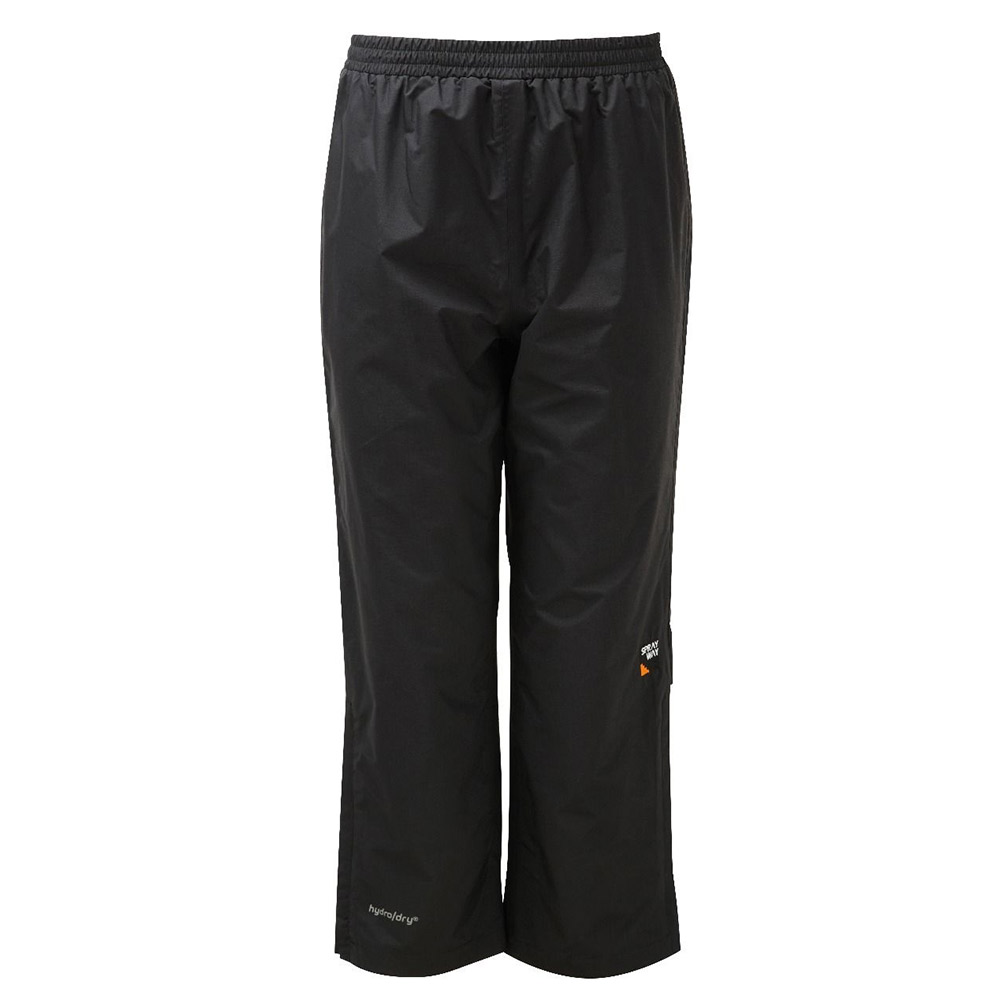 Sprayway Kids Rain Pants - Black - 8/9 Years