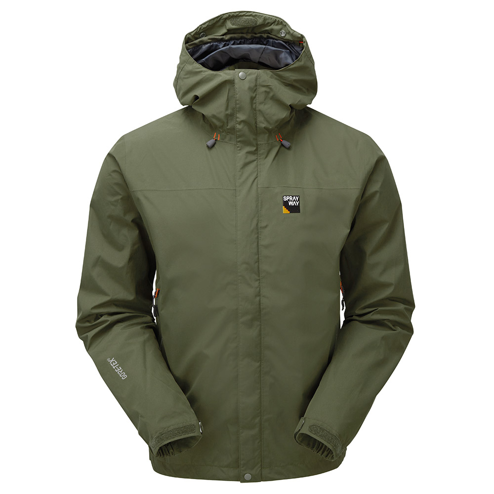 Sprayway Mens Maxen Gore-tex Jacket-woodland-s