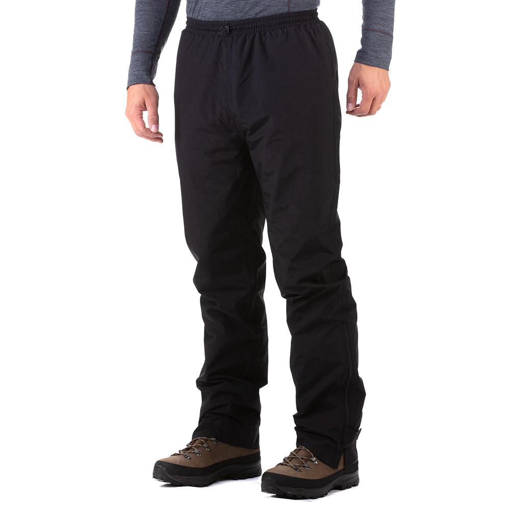 Sprayway Mens Santiago Rainpants - Black - 40s