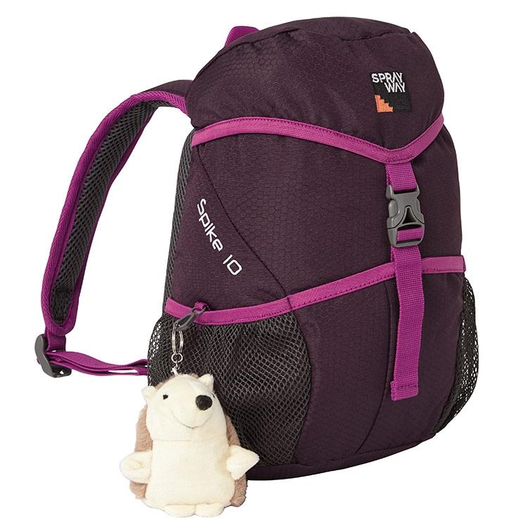 Sprayway Spike 10 Junior Backpack - Blackcurrant Pink