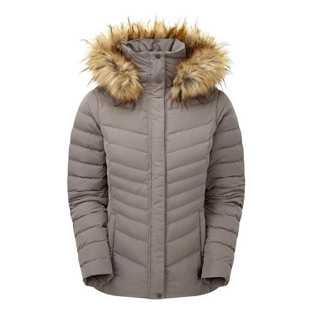 Sprayway Womens Woodville Down Jacket - Mink - 10