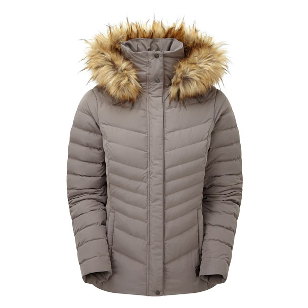Sprayway Womens Woodville Down Jacket - Mink - 14