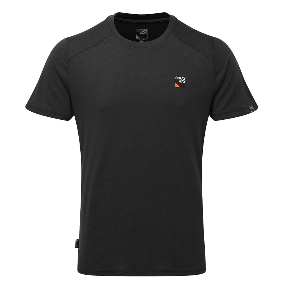 Sprayway Mens Logo T-shirt-black-s