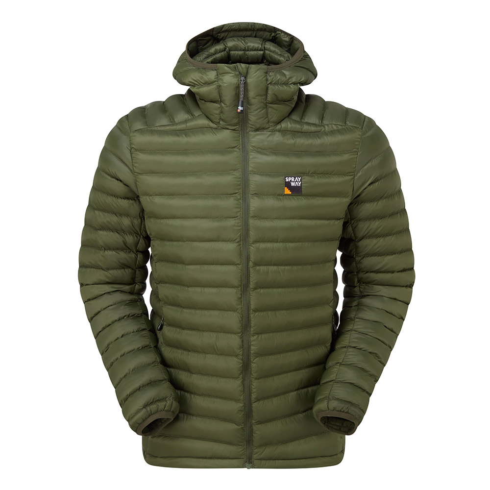 Sprayway Mens Agan Insulated Jacket-woodland-l