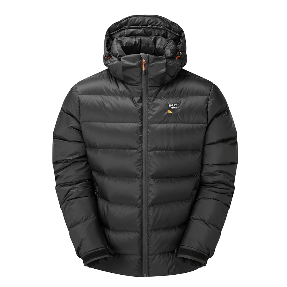 Sprayway Mens Ivar Down Jacket-thunder-2xl