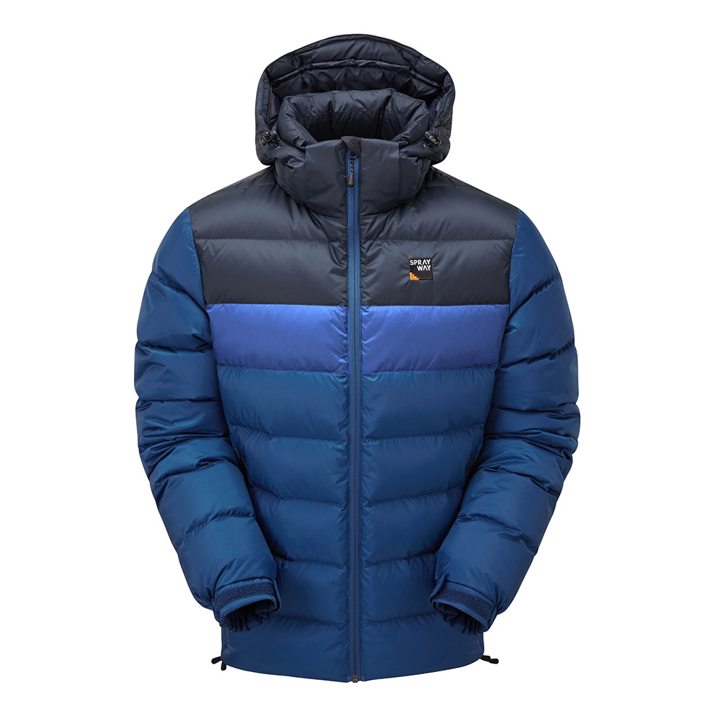 Sprayway Mens Ivar Down Jacket-yukon / Blazer-xl