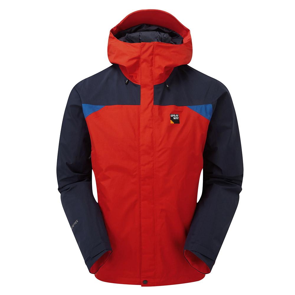 Sprayway Mens Reaction Gore-tex Jacket-racing / Blazer / Yukon-m