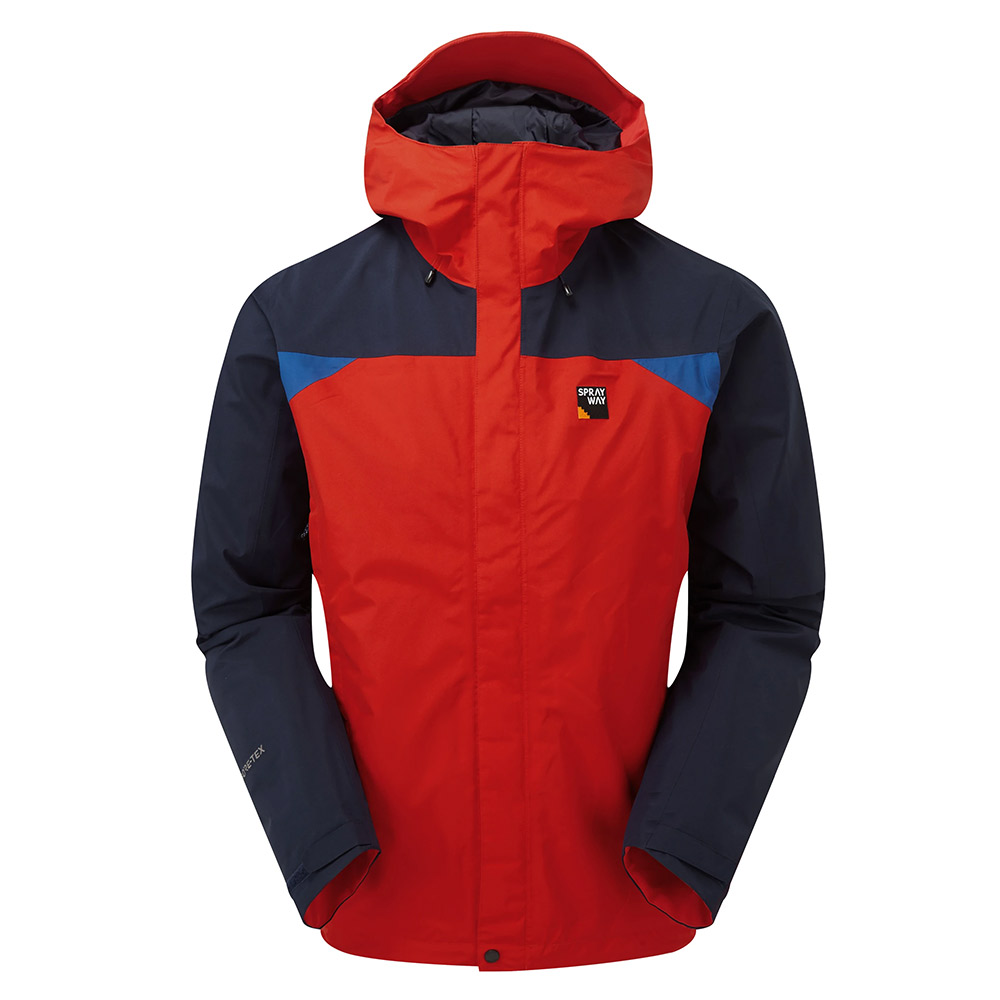 Sprayway Mens Reaction Gore-tex Jacket-racing / Blazer / Yukon-l