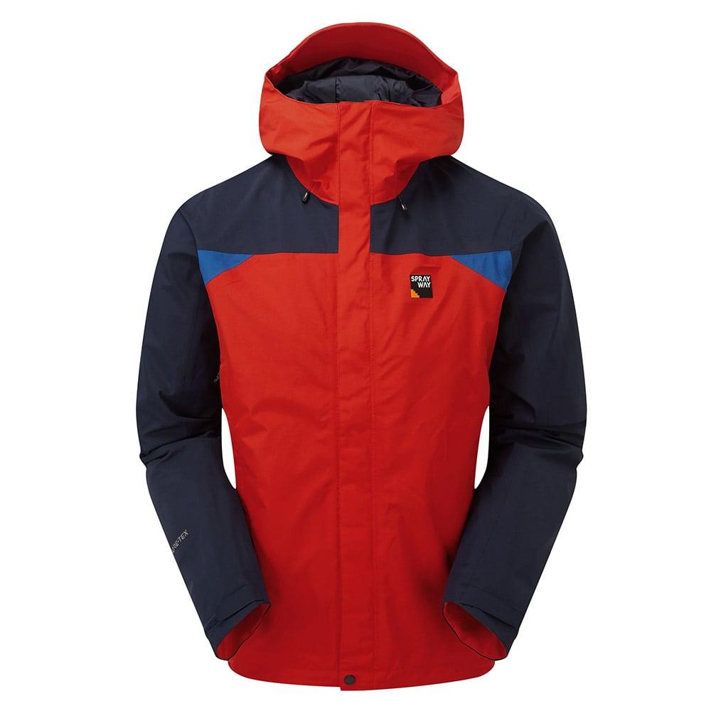 Sprayway Mens Reaction Gore-tex Jacket-racing / Blazer / Yukon-xl