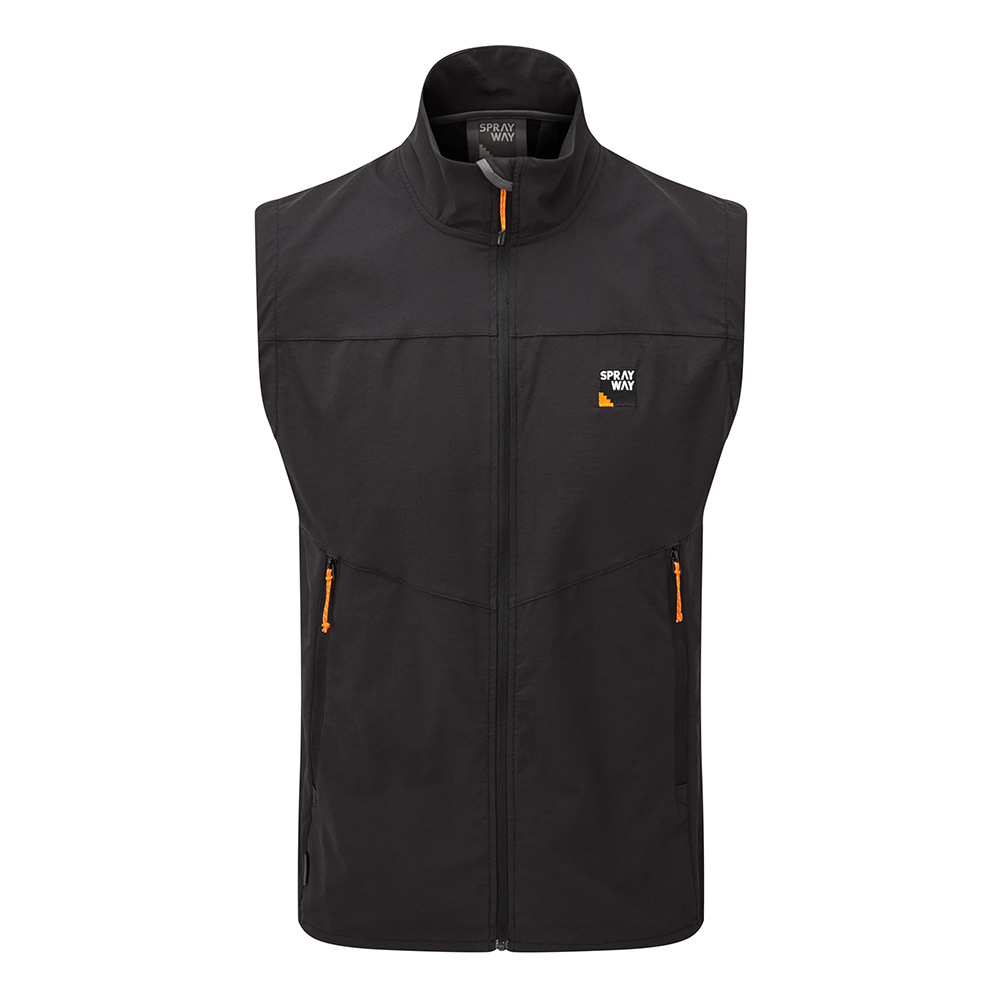 Sprayway Mens Anax Gilet-black-s