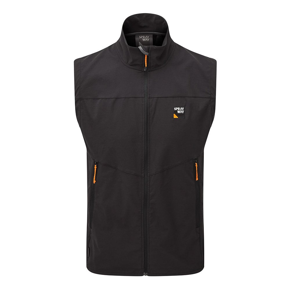 Sprayway Mens Anax Gilet-black-m