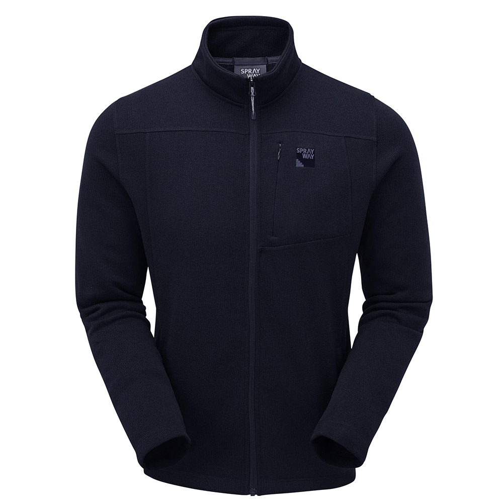 Sprayway Mens Minos Full Zip Fleece Jacket-blazer-m