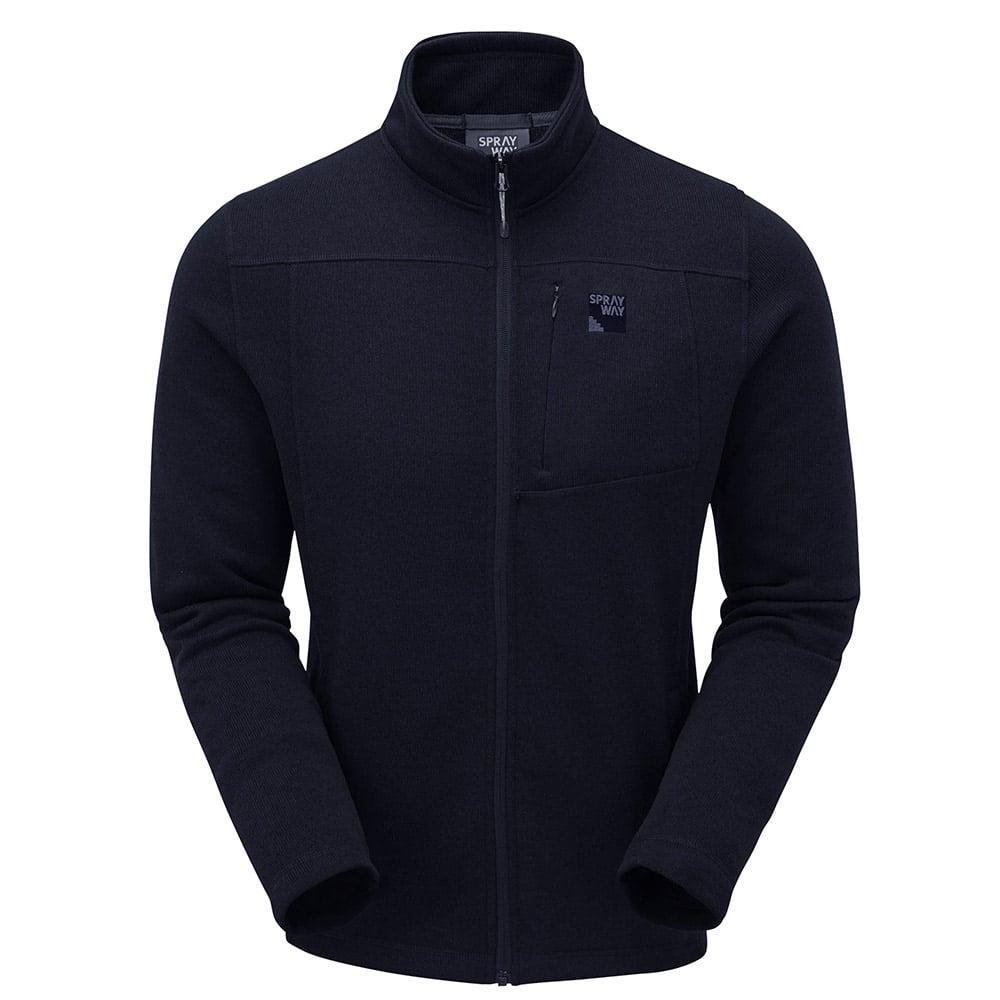 Sprayway Mens Minos Full Zip Fleece Jacket-blazer-l