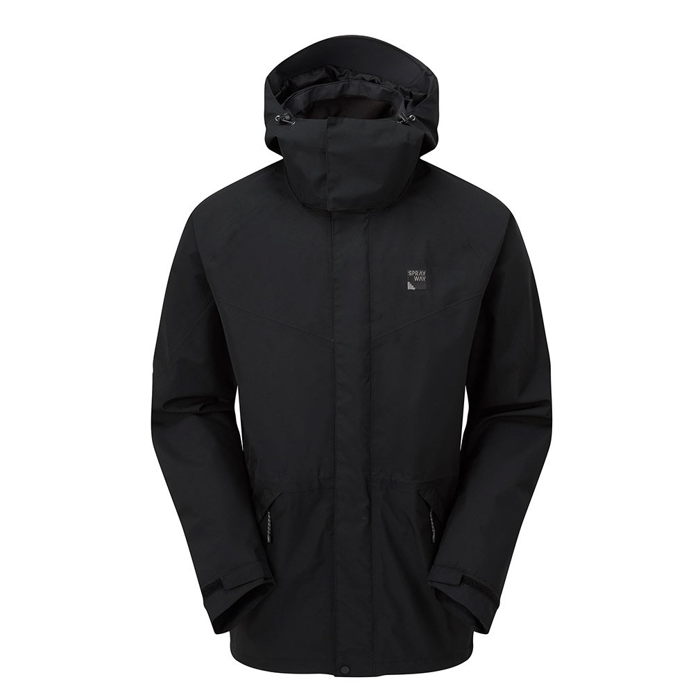 Sprayway Mens Kenmore Gore-tex Jacket-black-xl