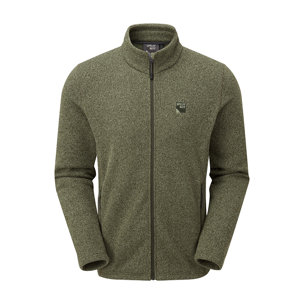 Sprayway Mens Erisman Fleece Jacket-woodland-s