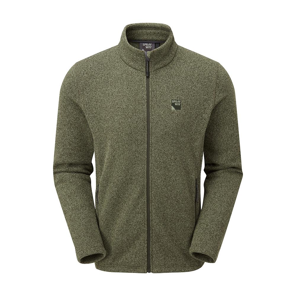 Sprayway Mens Erisman Fleece Jacket-woodland-xl