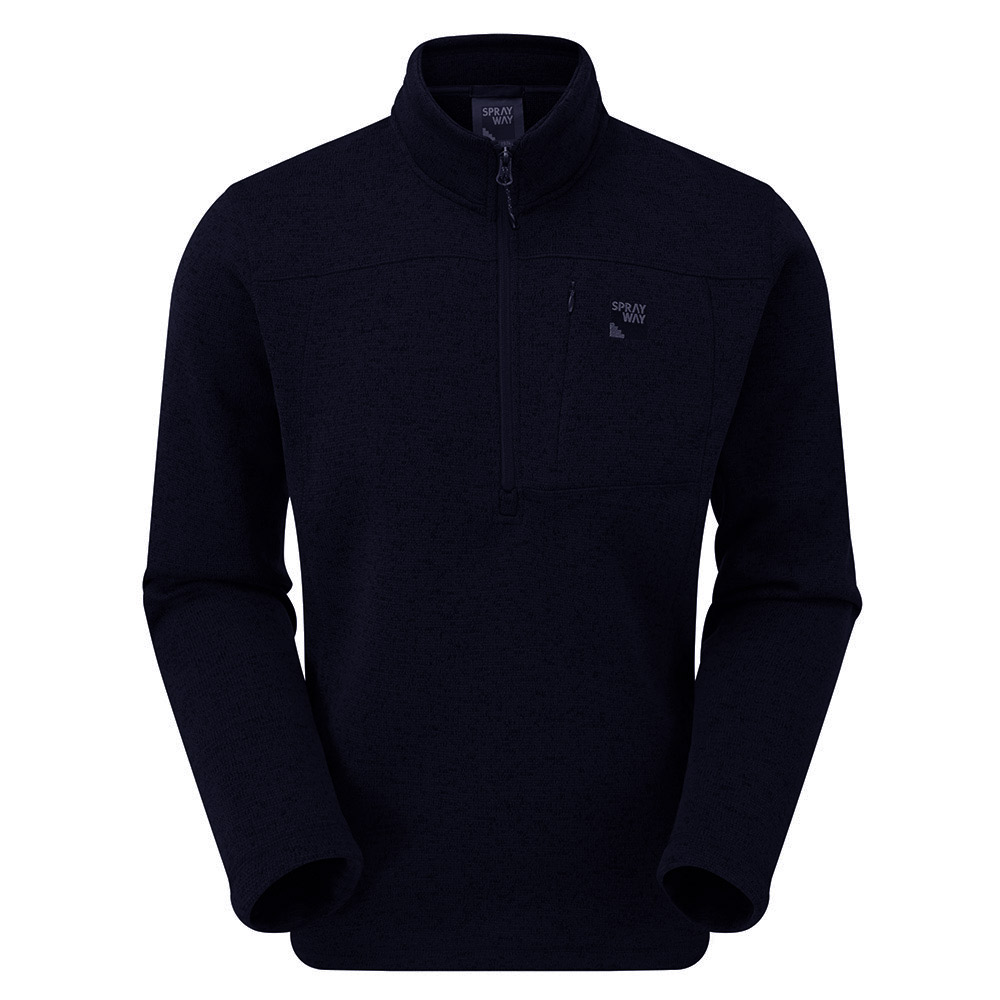 Sprayway Mens Minos Half-zip Fleece - Blazer - M