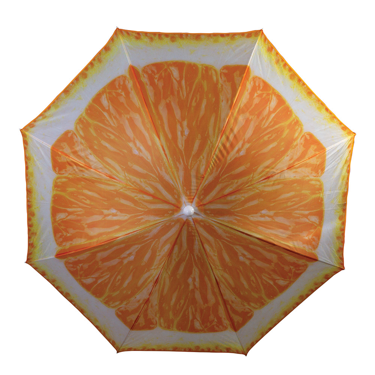 Quest Fruit Design Parasol / Umbrella-orange
