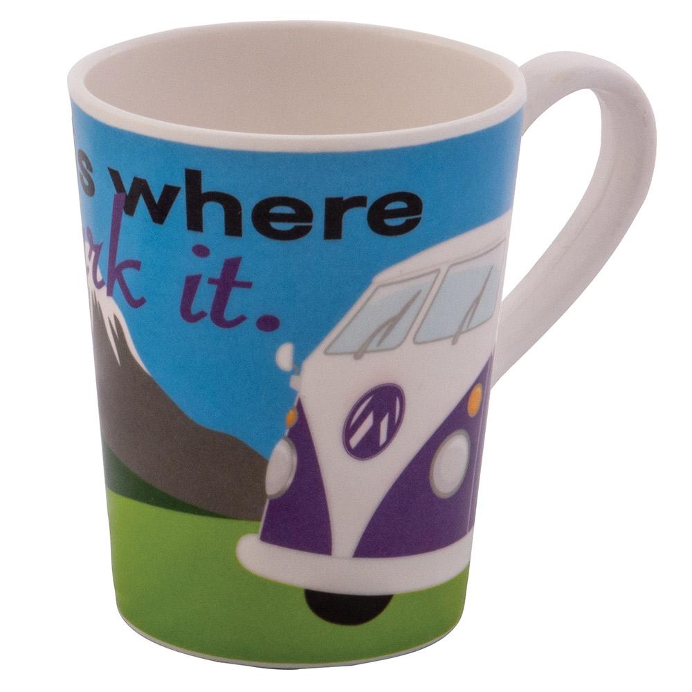 Quest home Is Where Melamine Mug