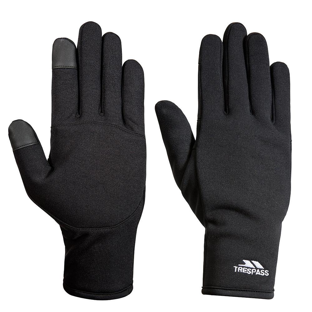 Trespass Poliner Softshell Stretch Touchscreen Gloves-s / M