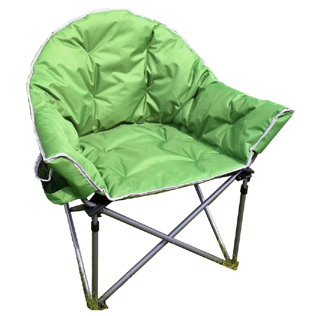 Crusader The Comfort Folding Camping Chair - Green