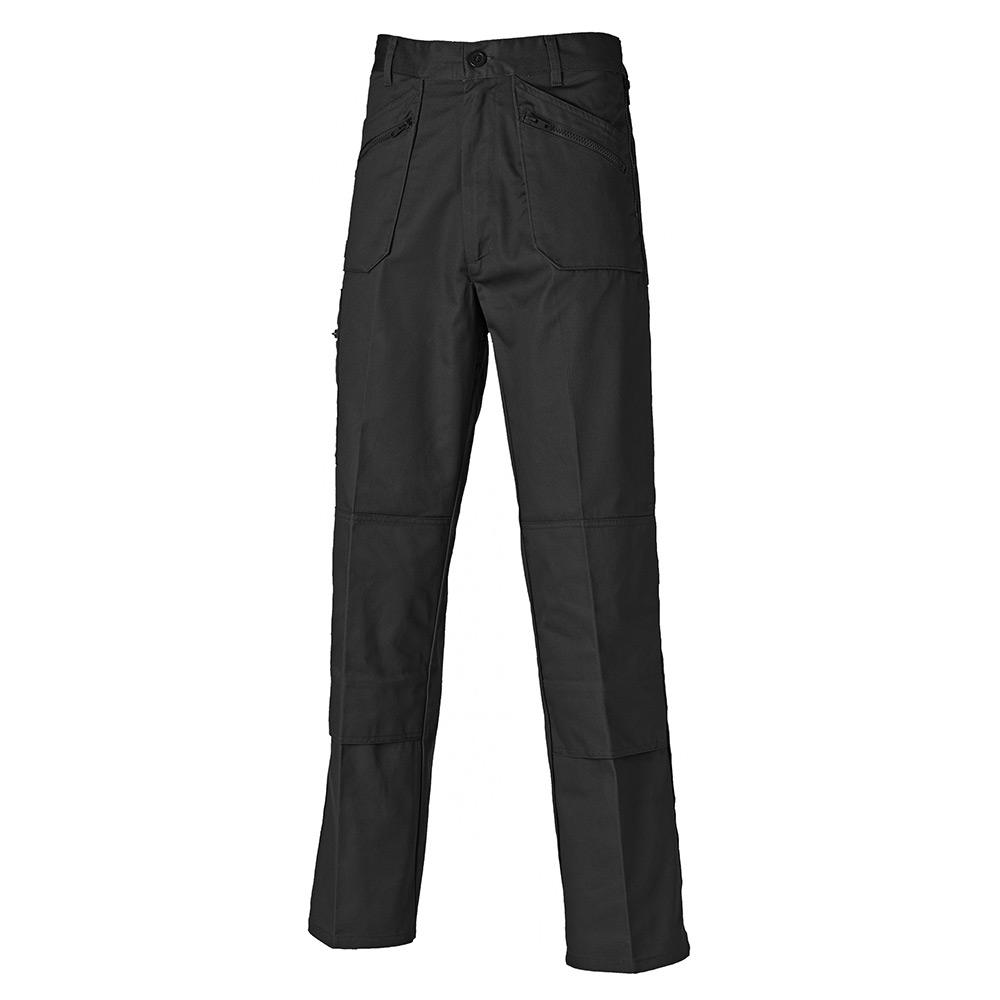 Dickies Mens Redhawk Action Trousers - Black - 32s