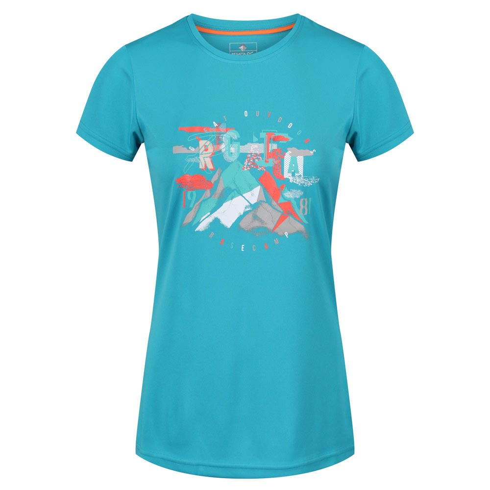 Regatta Womens Fingal IV T-Shirt-Enamel-18