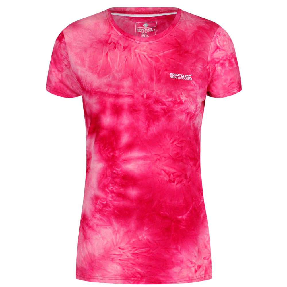 Regatta Womens Fingal IV T-Shirt-Neon Pink-10