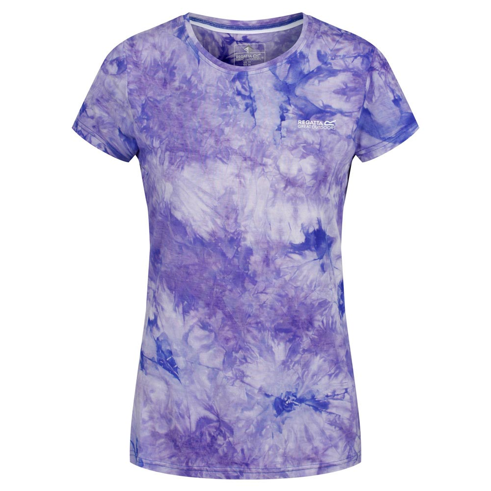 Regatta Womens Fingal IV T-Shirt-Blueberry-18
