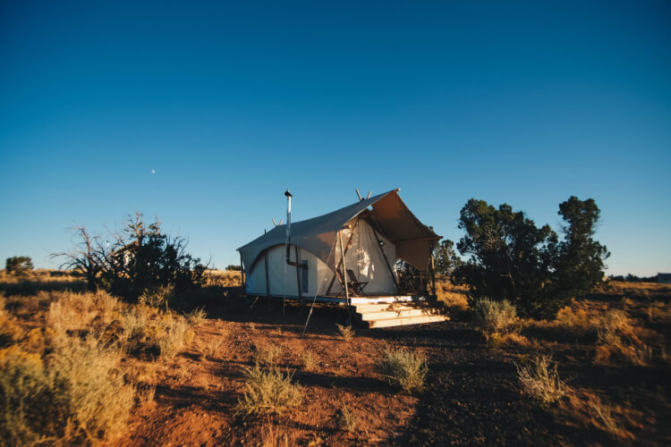 beginner's guide to glamping