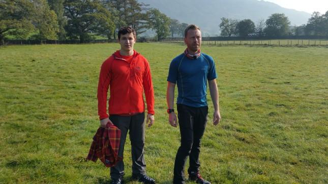 Walkers wearing Jack Wolfskin clothing