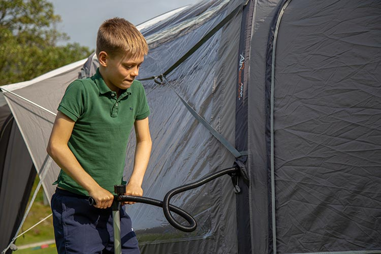 Checking your tent