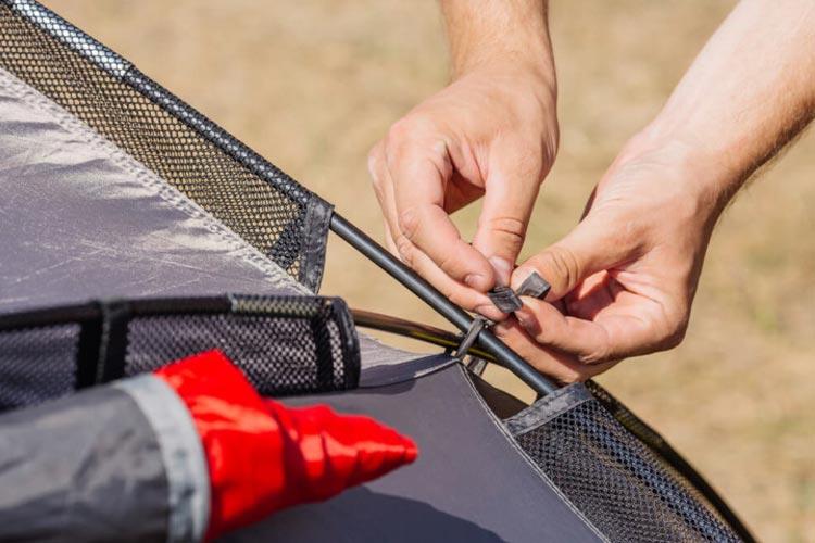 How to replace a fibreglass pole