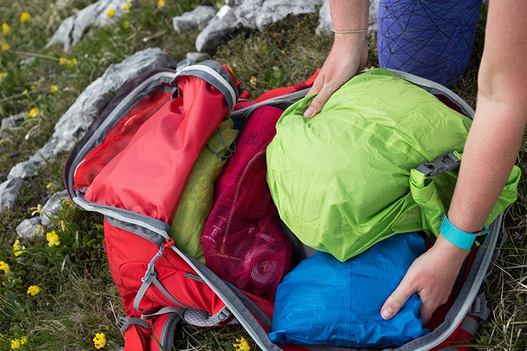 Packing and Organising Your Rucksack Guide